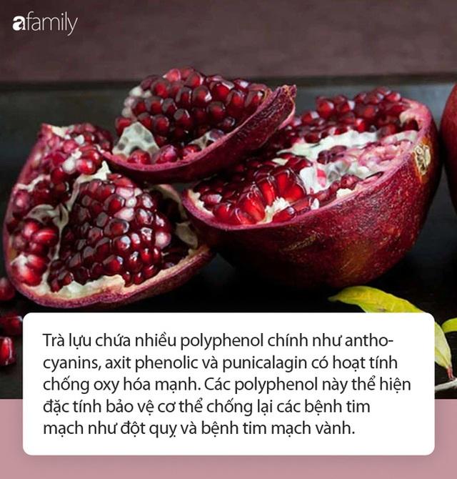 Nhiều người vứt thứ này đi khi ăn lựu mà không biết có thể làm thành trà đem lại 11 công dụng sức khỏe cực đáng gờm! - Ảnh 2.