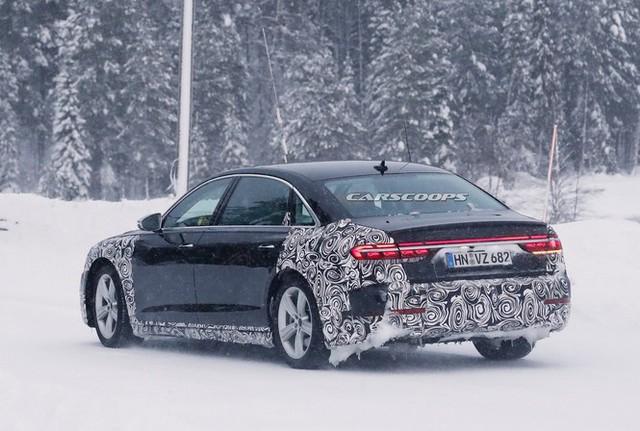 Rò rỉ xe sang Audi cạnh tranh Mercedes-Maybach S-Class - Ảnh 3.