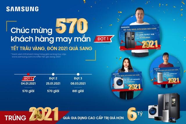 Trao tặng hàng ngàn phần quà, Samsung đồng hành cùng khách hàng tưng bừng đón Tết Tân Sửu - Ảnh 3.