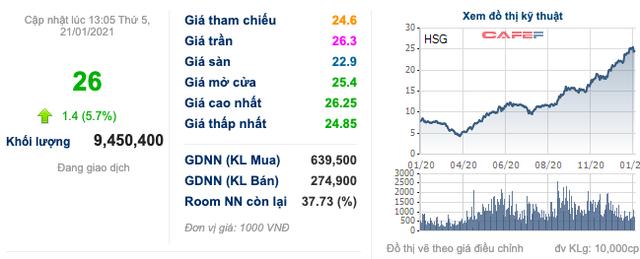 Chủ tịch HSG Lê Phước Vũ ngồi trên núi mua bán nguyên liệu: Cổ phiếu giảm là cơ hội mua vào, còn ai chốt lời cứ chốt đi - Ảnh 1.