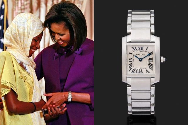 Đồng hồ bạc tỷ của các Đệ nhất Phu nhân Mỹ: Phong cách khác nhau nhưng đều điểm chung là đắt đỏ  - Ảnh 3.