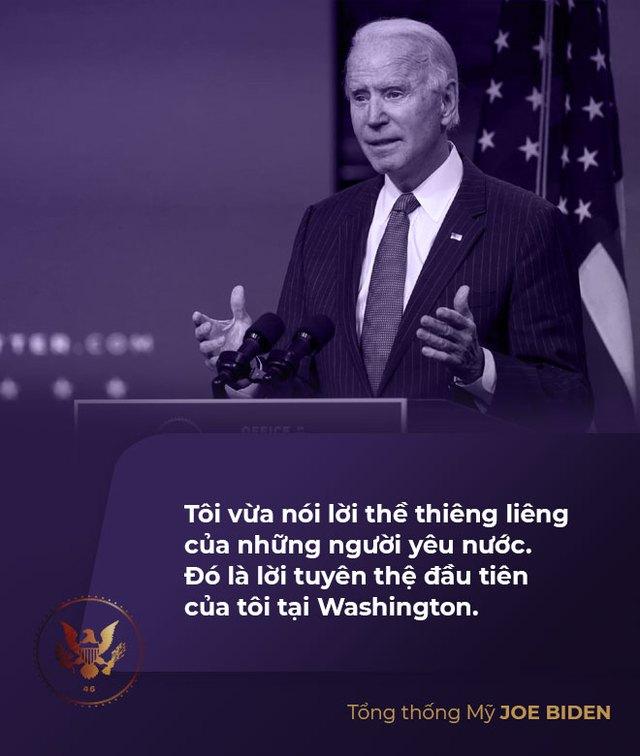 Toàn văn phát biểu nhậm chức của tân Tổng thống Mỹ Joe Biden - Ảnh 2.