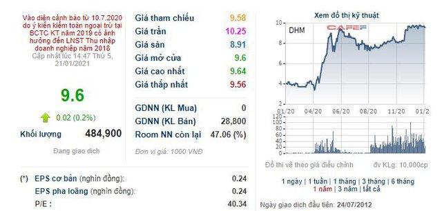Khoáng sản Dương Hiếu (DHM) báo lỗ tới 55 tỷ đồng trong quý 4 - Ảnh 2.
