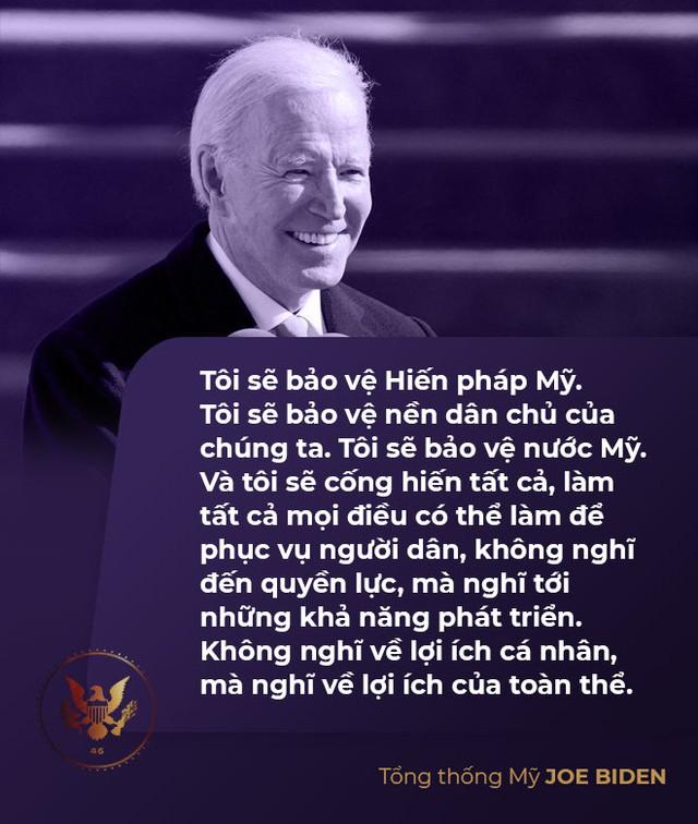 Toàn văn phát biểu nhậm chức của tân Tổng thống Mỹ Joe Biden - Ảnh 6.