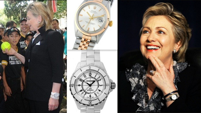 Đồng hồ bạc tỷ của các Đệ nhất Phu nhân Mỹ: Phong cách khác nhau nhưng đều điểm chung là đắt đỏ  - Ảnh 4.