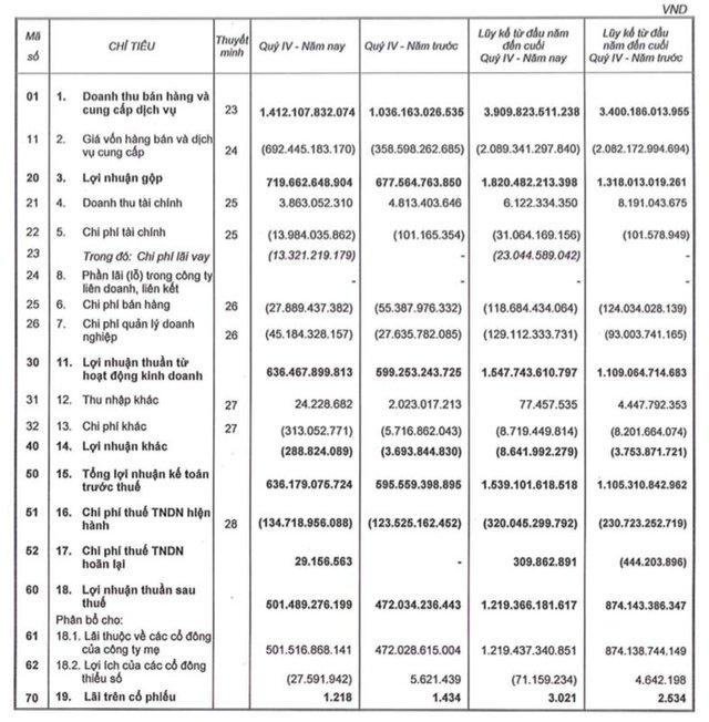 Bất động sản Phát Đạt (PDR): Năm 2020 LNST đạt 1.219 tỷ đồng tăng 40% so với cùng kỳ - Ảnh 1.