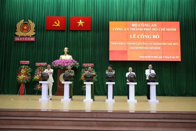 Đại tá Nguyễn Hoàng Thắng giữ chức Trưởng Công an TP.Thủ Đức - Ảnh 1.