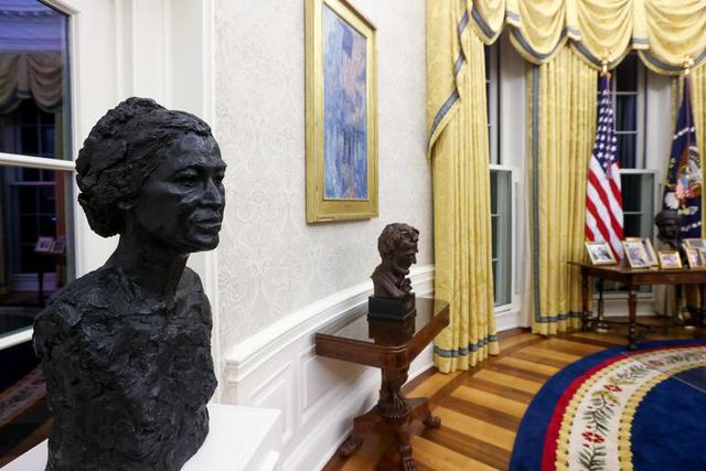 Bài trí Nhà Trắng thay đổi thế nào dưới thời Biden - Ảnh 6.