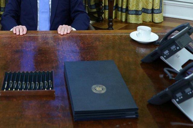 Bài trí Nhà Trắng thay đổi thế nào dưới thời Biden - Ảnh 8.