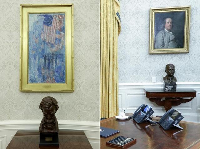 Bài trí Nhà Trắng thay đổi thế nào dưới thời Biden - Ảnh 9.