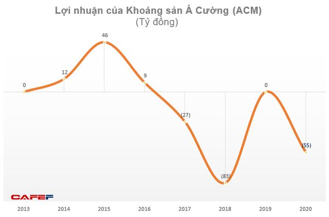 Khoáng sản Á Cường (ACM): Năm 2020 doanh thu 0 đồng, lỗ 55 tỷ đồng - Ảnh 2.