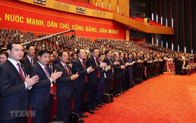 Chùm ảnh: Tổng Bí thư, Chủ tịch nước và các đại biểu dự phiên trù bị Đại hội XIII - Ảnh 14.
