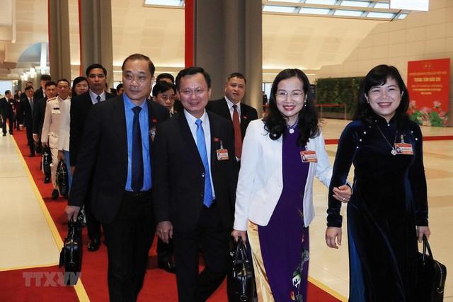 Chùm ảnh: Tổng Bí thư, Chủ tịch nước và các đại biểu dự phiên trù bị Đại hội XIII - Ảnh 7.