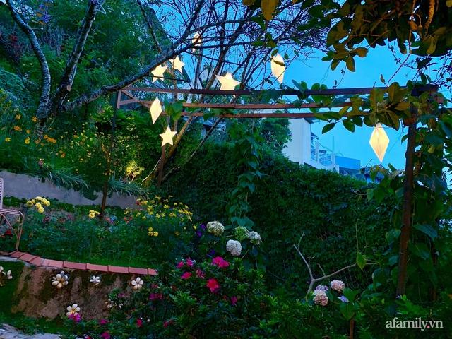Ngôi nhà nhỏ yên bình sở hữu khu vườn đẹp như xứ sở thần tiên giữa lưng chừng đồi ở Đà Lạt - Ảnh 7.