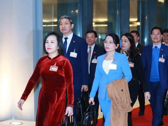 Chùm ảnh: Tổng Bí thư, Chủ tịch nước và các đại biểu dự phiên trù bị Đại hội XIII - Ảnh 10.