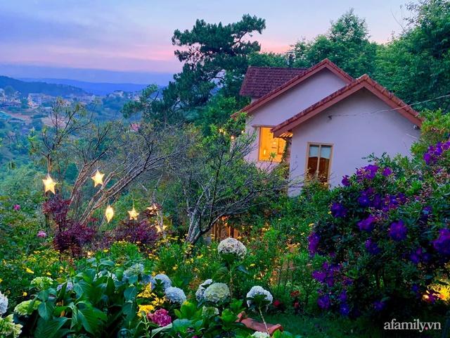 Ngôi nhà nhỏ yên bình sở hữu khu vườn đẹp như xứ sở thần tiên giữa lưng chừng đồi ở Đà Lạt - Ảnh 10.