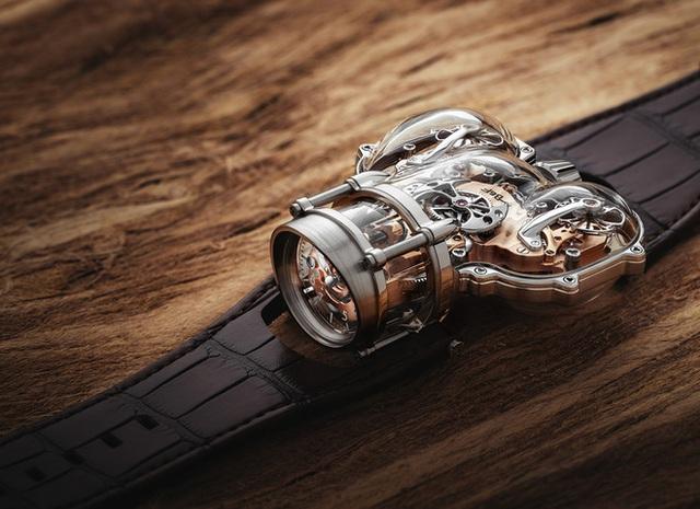 Choáng với mẫu đồng hồ giá hơn 10 tỷ đồng: Thiết kế siêu dị, vỏ case phủ sapphire trong suốt, đo thời gian chuẩn hơn, chống nước ở độ sâu 30 mét - Ảnh 1.