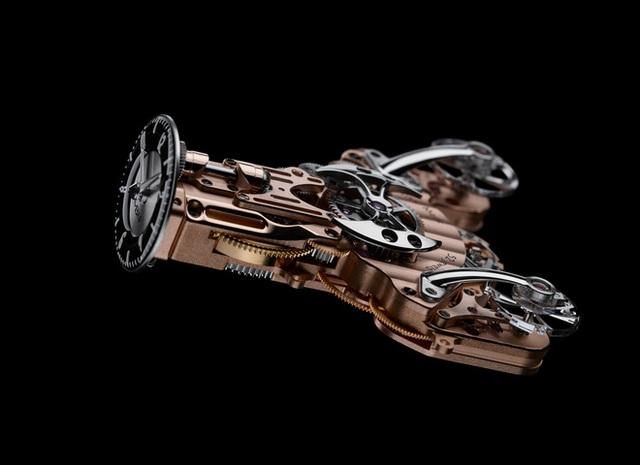 Choáng với mẫu đồng hồ giá hơn 10 tỷ đồng: Thiết kế siêu dị, vỏ case phủ sapphire trong suốt, đo thời gian chuẩn hơn, chống nước ở độ sâu 30 mét - Ảnh 3.