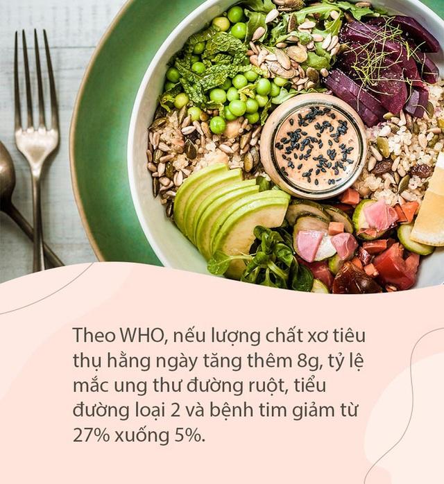 """6 loại thực phẩm này là """"bậc thầy về chất xơ"""", nuôi dưỡng dạ dày, bảo vệ đường ruột, đặc biệt cực tốt cho người bị tiểu đường - Ảnh 1."""