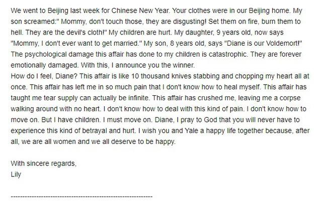 Sếp nữ ngân hàng lớn Trung Quốc dằn mặt kẻ thứ ba bằng email tiếng Anh chuẩn văn phong thương mại, khiến dân tình ngả mũ bái phục: Xứng đáng IELTS 9.0! - Ảnh 3.