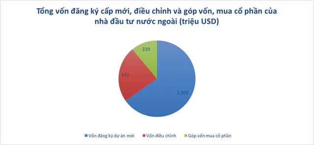 Vốn FDI vào Việt Nam bất ngờ giảm mạnh trong tháng 1 - Ảnh 1.