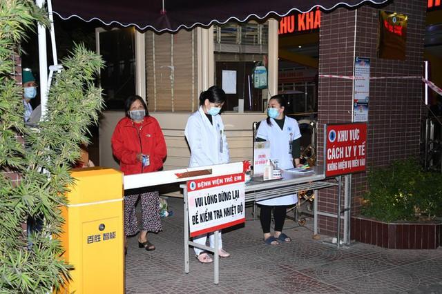 Phong tỏa bệnh viện Nhi Hải Phòng vì ca mắc COVID-19 quê Hải Dương - Ảnh 4.