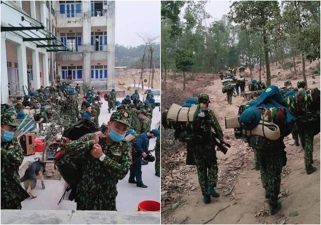 Nghẹn lòng hình ảnh các bác sĩ, chiến sĩ trước trận chiến mới chống lại Covid-19 khi Tết đã cận kề: Nửa đêm vẫn lao vào tâm dịch, lên rừng để nhường chỗ nhân dân - Ảnh 7.