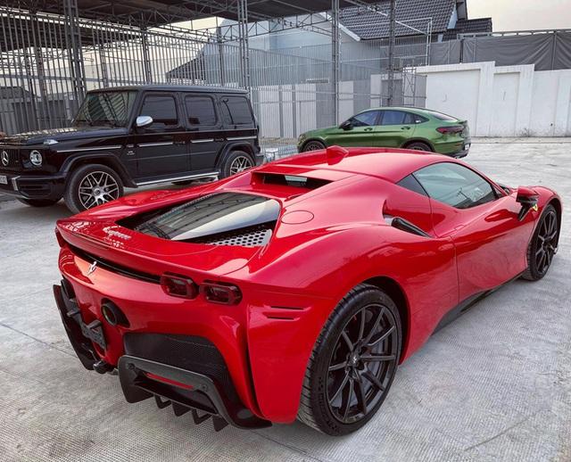 Đại gia kinh doanh hoa lan ở Sài Gòn vung tiền tậu Ferrari SF90 Stradale đầu tiên Đông Nam Á - Ảnh 3.