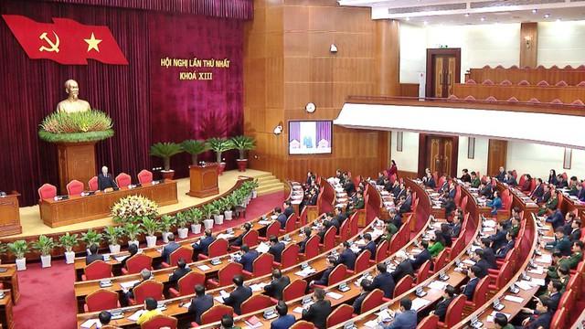 Ông Nguyễn Phú Trọng tái đắc cử Tổng Bí thư - Ảnh 7.