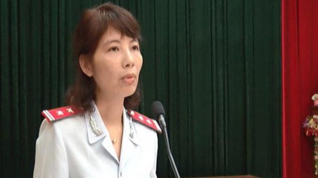 Nữ trưởng đoàn Thanh tra Bộ Xây dựng vòi tiền ở Vĩnh Phúc tóc bạc trắng sau hơn 1 năm bị bắt - Ảnh 4.