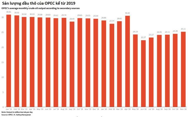 Triển vọng thị trường dầu năm 2021 bị phủ bóng đen bởi virus Covid-19 biến thể - Ảnh 2.
