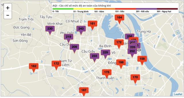 Đâu là nguyên nhân Hà Nội bị ô nhiễm không khí nặng? - Ảnh 1.
