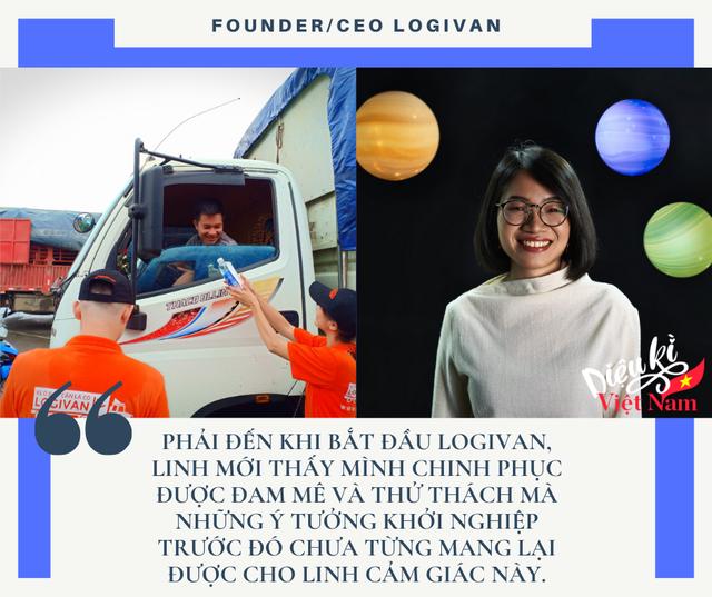 CEO LOGIVAN Phạm Khánh Linh: Founder nữ sẽ gặp nhiều khó khăn hơn founder nam nhưng Linh vượt qua được những khó khăn đó! - Ảnh 1.