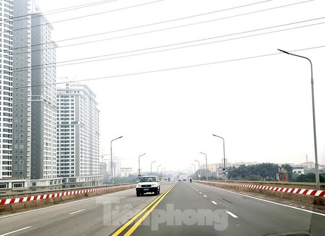 Chính thức thông xe cầu Thăng Long sau 6 tháng dừng hoạt động để sửa chữa - Ảnh 5.