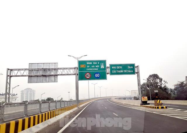 Chính thức thông xe cầu Thăng Long sau 6 tháng dừng hoạt động để sửa chữa - Ảnh 6.