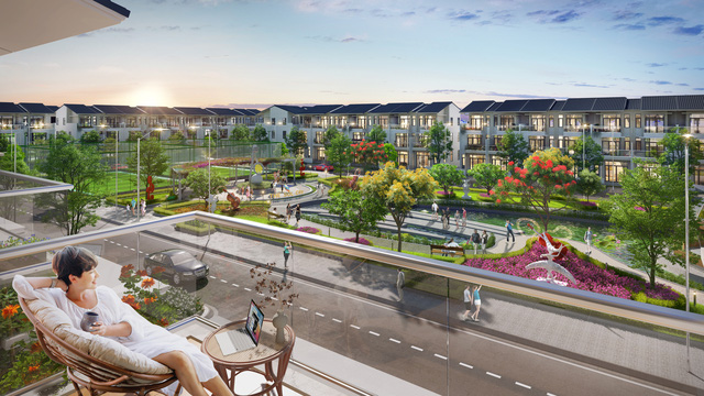 """Nhà phố, biệt thự vùng giáp ranh Tp.HCM """"soán ngôi"""" thị trường - Ảnh 1."""
