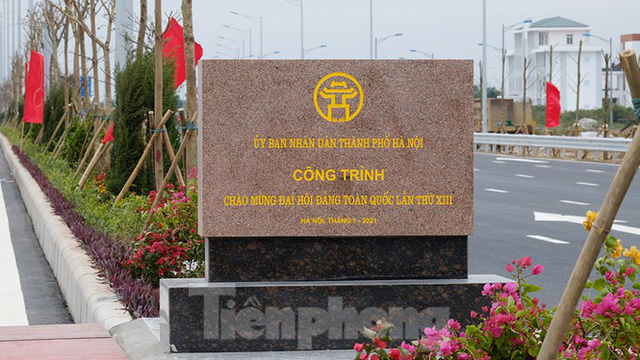 Nút giao Vành đai 3 với cao tốc Hà Nội - Hải Phòng trước ngày thông xe - Ảnh 10.