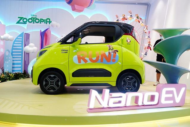 Ô tô điện giá 70 triệu đồng lộ diện, rẻ hơn xe máy ở Việt Nam, đi 305km sạc đầy pin - Ảnh 4.