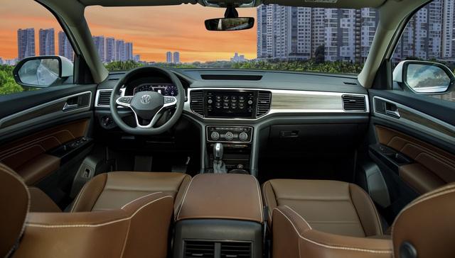 SUV 7 chỗ Volkswagen Teramont về Việt Nam: Giá 2,35 tỷ đối đầu Ford Explorer - Ảnh 3.