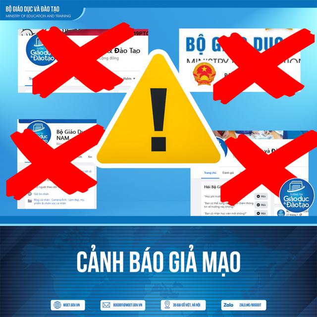 Hàng loạt facebook giả mạo Bộ GD-ĐT, công khai rao bán các loại văn bằng, chứng chỉ  - Ảnh 1.