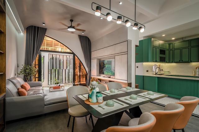 Đôi vợ chồng chi 3 tỷ xây căn nhà phố một tầng đẹp như mơ - Ảnh 8.