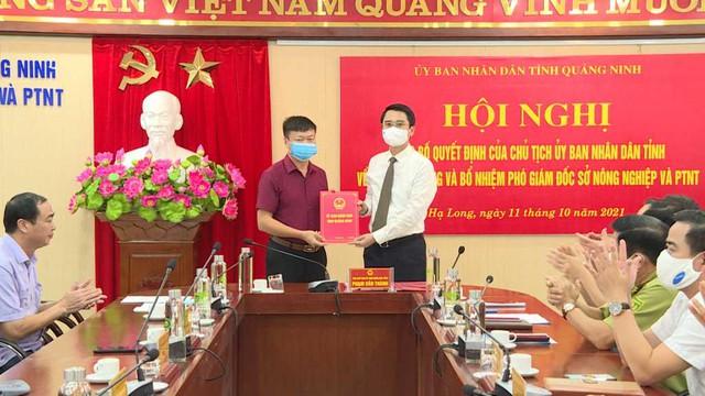 Quảng Ninh điều động, bổ nhiệm nhiều lãnh đạo Sở, ngành - Ảnh 4.