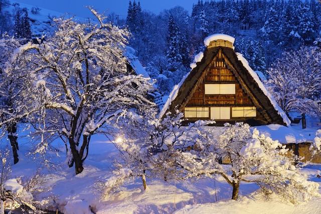 Ngẩn ngơ trước sự quyến rũ của những ngôi nhà mái dốc thuộc ngôi làng đẹp nhất Nhật Bản - Ảnh 15.