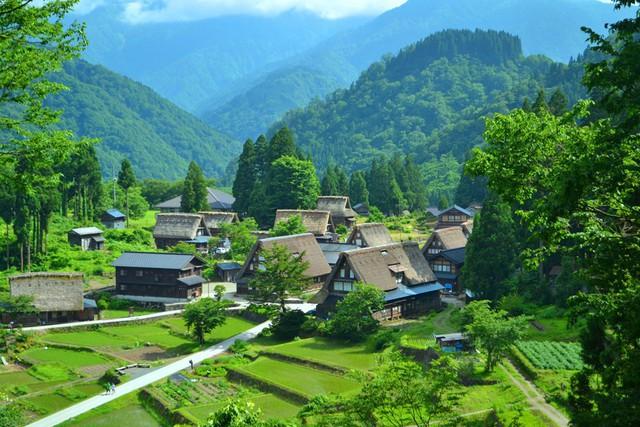Ngẩn ngơ trước sự quyến rũ của những ngôi nhà mái dốc thuộc ngôi làng đẹp nhất Nhật Bản - Ảnh 4.