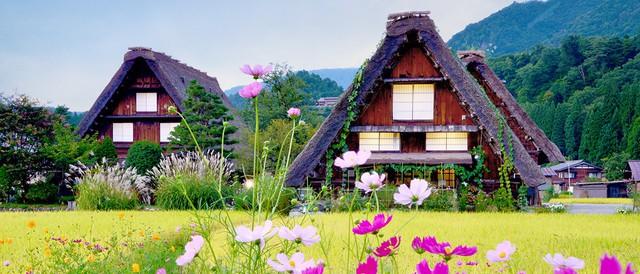 Ngẩn ngơ trước sự quyến rũ của những ngôi nhà mái dốc thuộc ngôi làng đẹp nhất Nhật Bản - Ảnh 6.