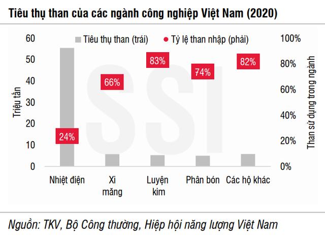 SSI Research: Doanh nghiệp ngành than Việt Nam vẫn chưa thể hưởng lợi từ cơn bão giá thế giới - Ảnh 2.