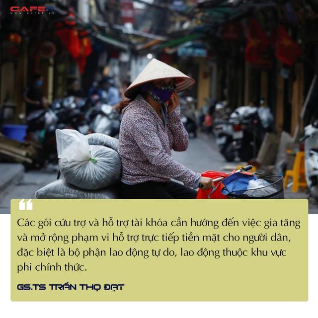 GS.TS Trần Thọ Đạt: Đỉnh dịch đã qua, nền kinh tế đã tạo đáy - Ảnh 2.