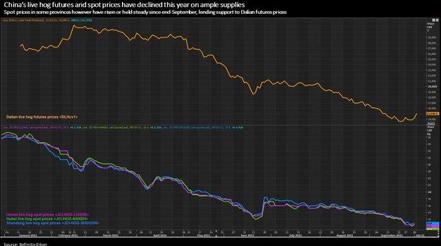 Giá lợn ở Trung Quốc đảo chiều tăng vọt do nguy cơ sản lượng giảm trở lại - Ảnh 1.