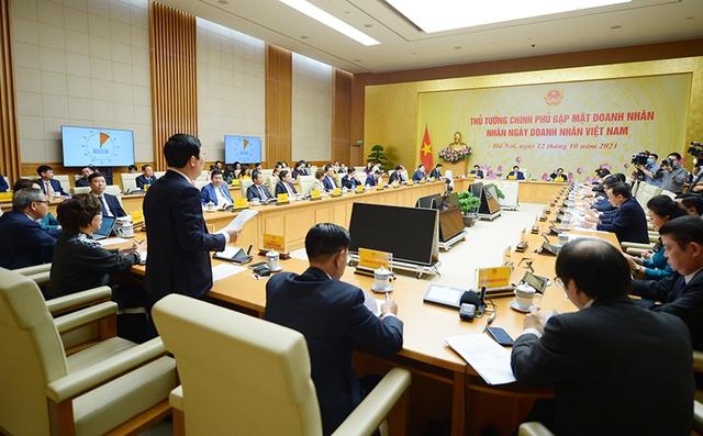 [TRỰC TIẾP] Thủ tướng Chính phủ gặp mặt Doanh nhân nhân Ngày Doanh nhân Việt Nam - Ảnh 5.