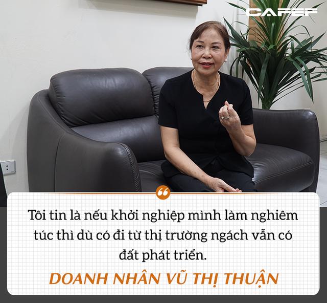 Nữ tướng ngành dược Vũ Thị Thuận: Hành trình 21 năm ở vị trí số 1 thị trường đông dược hiện đại và chặng đường mới ở tuổi U70 - Ảnh 3.